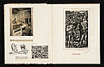 [Reginald Marsh scrapbook #4 pages 25]
