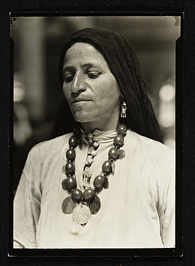 Syrian Arab Woman at Ellis Island