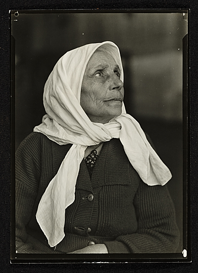 South American Woman at Ellis Island