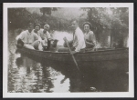 Alfred H. Maurer and others in a canoe