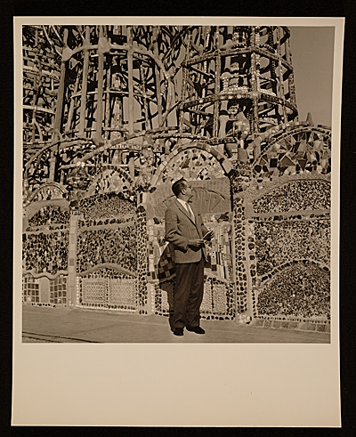 Juan OGorman at Watts Towers