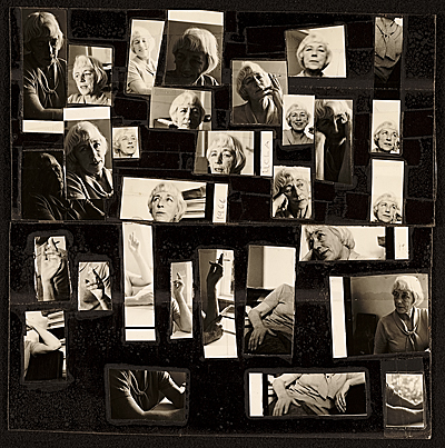 Collage of photographs of Esther McCoy