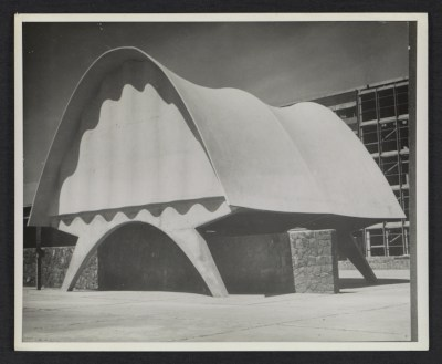 [Cosmic Ray Pavilion, University City, Mexico City, 1950. Design by Félix Candela]