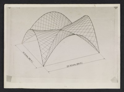 [Diagram of the Hyperbolic Parabola for the Stock Exchange in Mexico City]