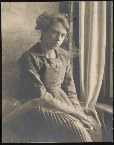 Esther McCoy approximately 12 years old