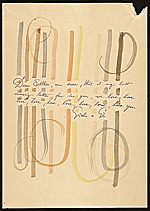 Gio Ponti letter to Esther McCoy