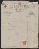 Joseph F. McCrindle invoice for purchase of line drawings