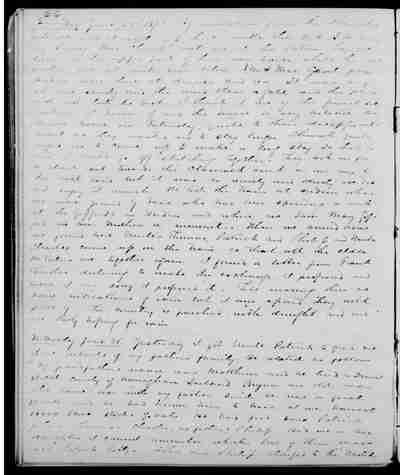 [Diary Entry for June 25, 1873]