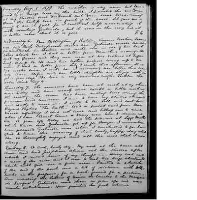 [Diary Entry for August 6, 1879]