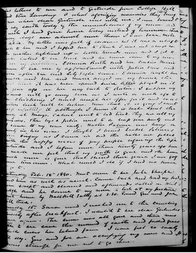 [Diary Entry for February 15, 1880]
