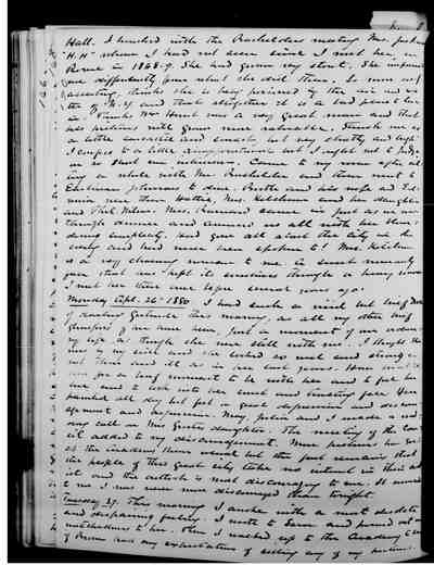 [Diary Entry for April 26, 1880]