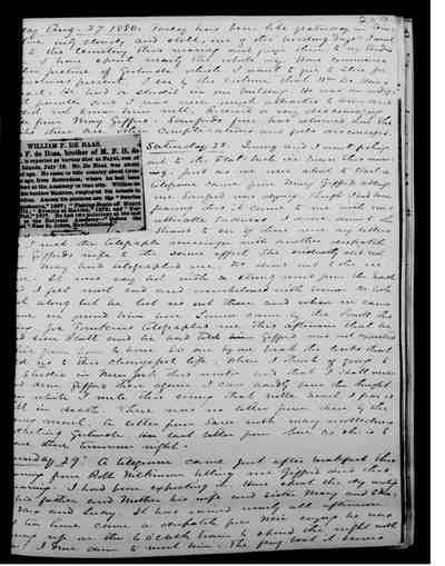 [Diary Entry for August 27, 1880]
