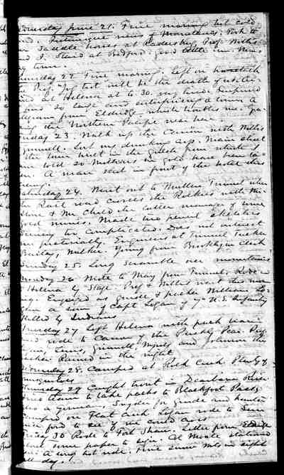 [Diary Entry for June 27, 1882]