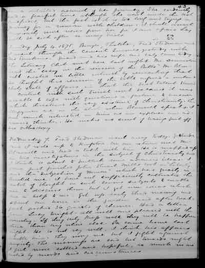 [Diary Entry for July 7, 1875]