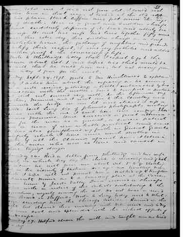 [Diary Entry for September 27, 1875]