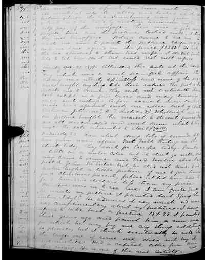 [Diary Entry for December 22, 1875]