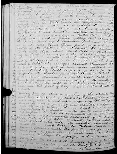 [Diary Entry for January 17, 1876]