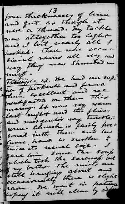 [Diary Entry for September 13, 1878]
