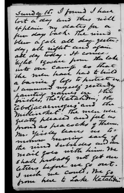 [Diary Entry for September 15, 1878]