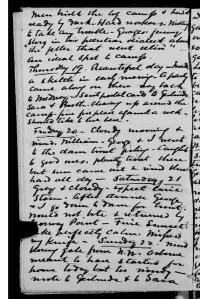 [Diary Entry for September 19, 1878]