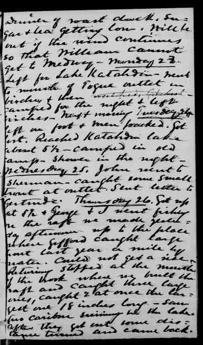[Diary Entry for September 25, 1878]