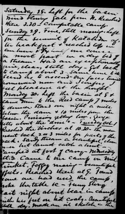 [Diary Entry for September 28, 1878]