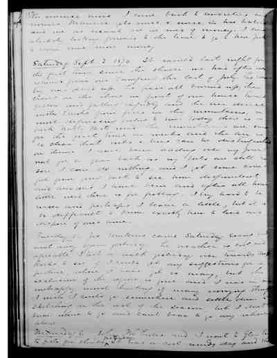[Diary Entry for September 1, 1876]