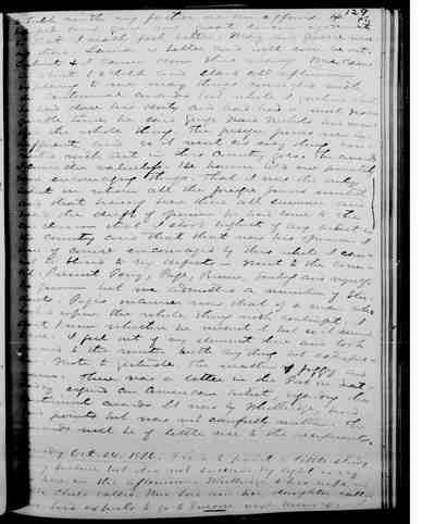 [Diary Entry for October 23, 1876]