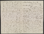 Eastman Johnson letter to Jervis McEntee