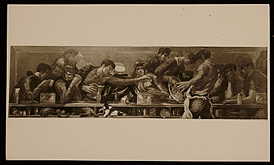 Last Supper by Edward Melcarth
