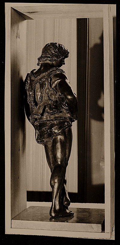 Bronze figure by Edward Melcarth