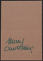 [William Thon Christmas card to Mary Gruskin inside 1]