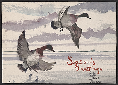F. Douglas Greenbowe Christmas card to unidentified recipient