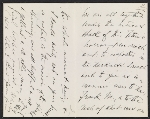 [Henry James letter to unknown recipient page 1]