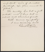 George Booth Post letter to Lily Millet