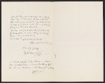 William A. (William Anderson) Coffin letter to Lily Millet