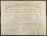 Francis Davis Milletts Bachelors diploma from Harvard University