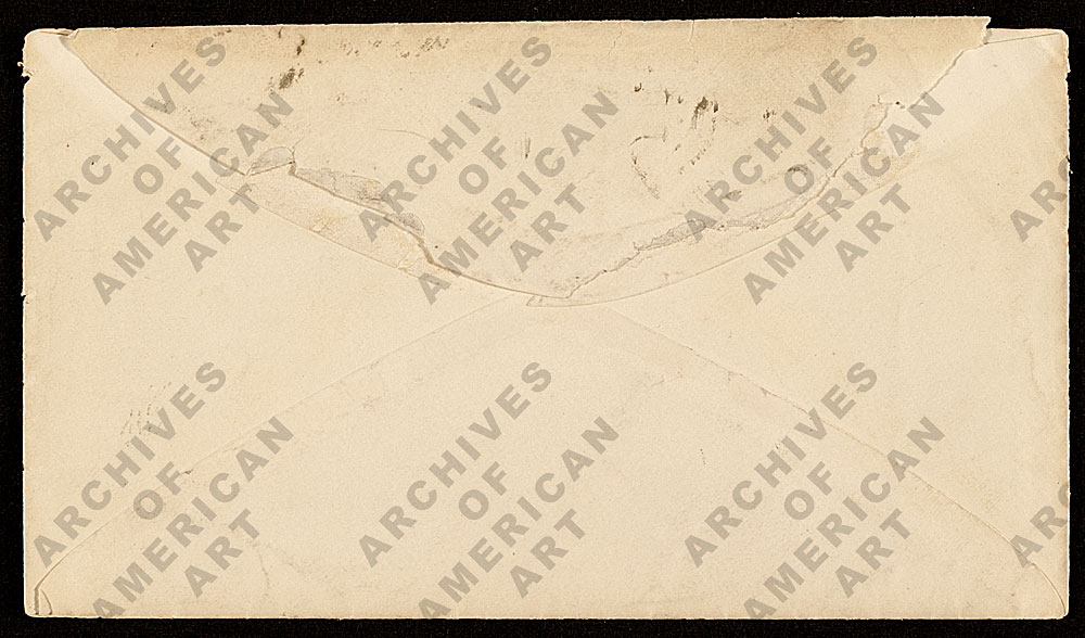Image for envelope verso 3