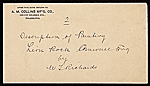[George Whitney, Philadelphia, Pa. letter to Henry Hill Collins envelope 3]
