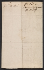 [Benjamin West letter to Sir Francis Legatt Chantrey 1]
