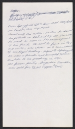 [Benjamin West letter to Sir Francis Legatt Chantrey 4]