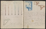 [An unidentified design student's notebook pages 39]