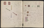 [An unidentified design student's notebook pages 40]
