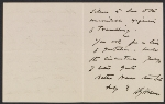 [Harriet Goodhue Hosmer letter to an unidentified recipient 1]