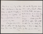 [Francis Seymour Haden letter to Frederick Keppel pages 1]
