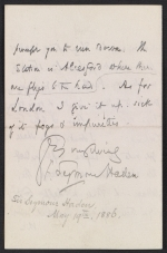 [Francis Seymour Haden letter to Frederick Keppel page 2]