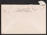 [Charles Burchfield letter to Alan M. Pensler envelope verso 1]