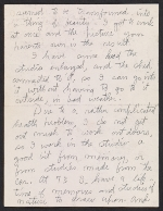 [Charles Burchfield letter to Alan M. Pensler page 5]