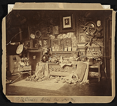 [W.M. [William Merritt] Chase's studio, West 10th St. N.Y.]