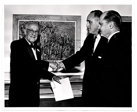 James N. Rosenberg, Irwin Shaw and E.P. Richardson